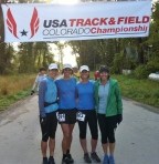 2011 Lead King Loop: Elinor Fish, Sari, Joy Schneiter, Wendy Kennedy