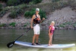 SUP on the Colorado RIver