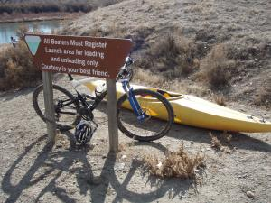Loma Boat Ramp - Swap the bike for the boat