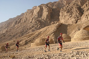 Team Nike Running in the Jebel Hafeet Mtns. Photo courtesy Mike Bitton, CheckpointZero.com