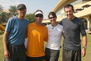 Michael Tobin, Mike Kloser, Sari and Chris Forne
