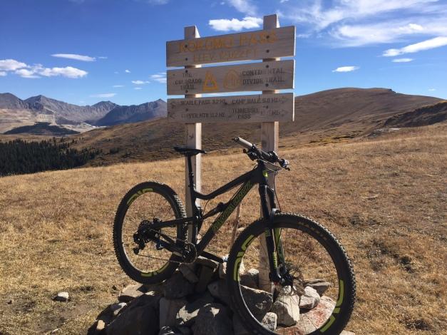 Kokomo Pass, 12,027 feet