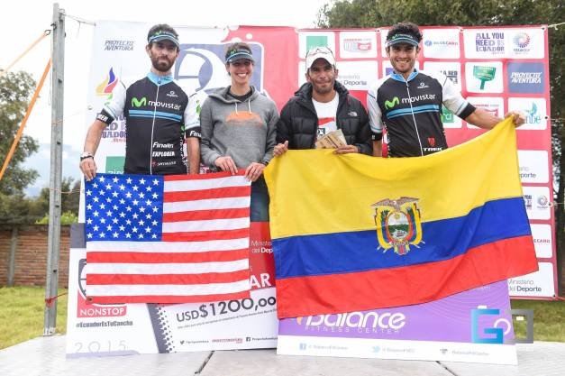 Podium shot. I was the only American but the organization was nice enough to have a flag for me.